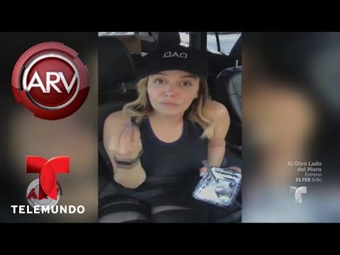 Rosie Rivera reaccionó al arresto de Esteban Loaiza | Al Rojo Vivo | Telemundo