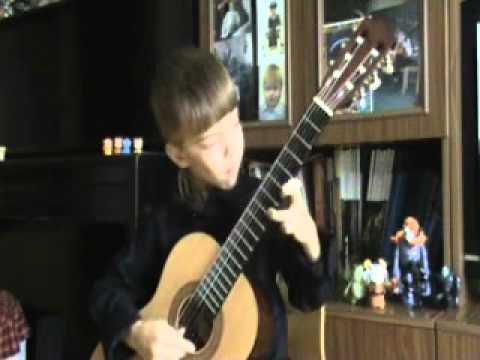 Mikhail Likhachev (6 old) - Gypsy Dance