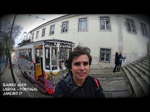 Lisboa  Portugal.Caminhando pela cidade em um dia de inverno.