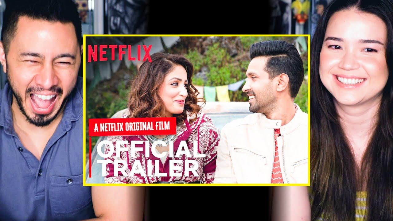 GINNY WEDS SUNNY | Official Trailer | Vikrant Massey, Yami Gautam | Netflix India | Reaction | Jaby