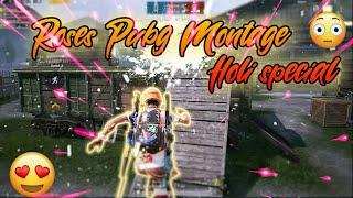 Roses Pubg Montage, Bhavya Gaming,Holi special#pubgm