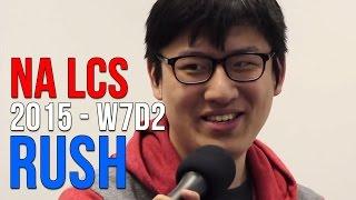 NA LCS 2015: Rush