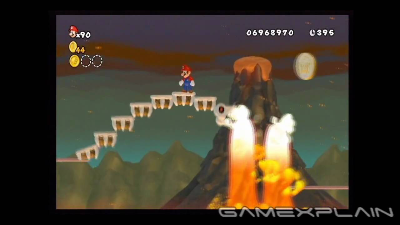 New Super Mario Bros Wii Level 8 7 Star Coins Youtube