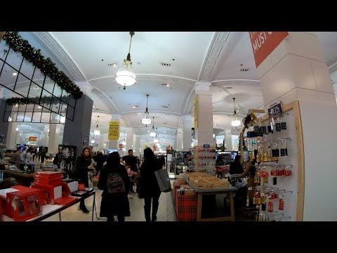 ⁴ᴷ⁶⁰ Walking Tour Of Lord And Taylor Fifth Avenue Department Store - November 2018 Final Days