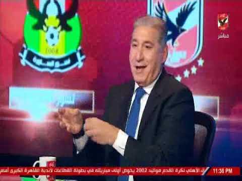 ملعب الاهلى وتحليل اداء خاص عن اداء حسين الشحات امام شبيبة الساورة