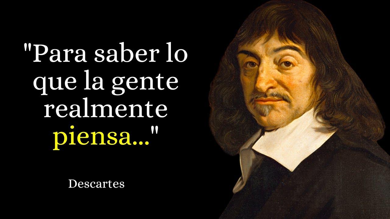 Repeat 63 Bonitas Frases De René Descartes Narradas