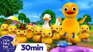 10 Little Ducks +More Nursery Rhymes and Kids Songs | Little Baby Bum