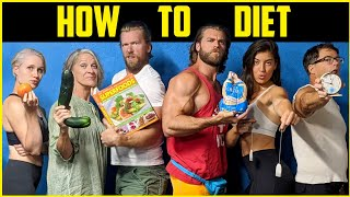 HOW TO DIET   F๐od Do and Do Nots