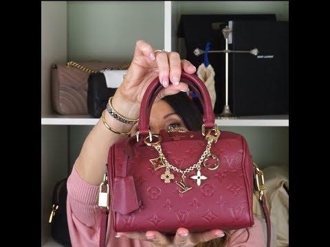 99faea44fd5e What`s in My Bag  Louis Vuitton  speedy 20 Bandouilere Empreinte lvlovermj