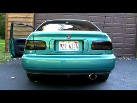 1993 Honda Civic Ex Vtec Exhaust - YouTube