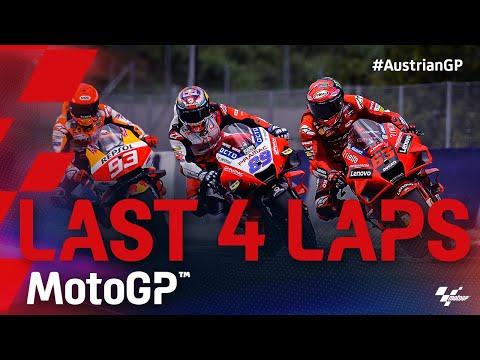 MotoGP™ Last 4 Laps | 2021 #AustrianGP