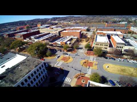 Columbus, Georgia City Trip By Drone