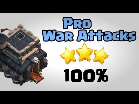 TOWN HALL 9 BEST(WCL) WAR ATTACK STRATEGIES 2018 | CLASH OF CLANS INDIA