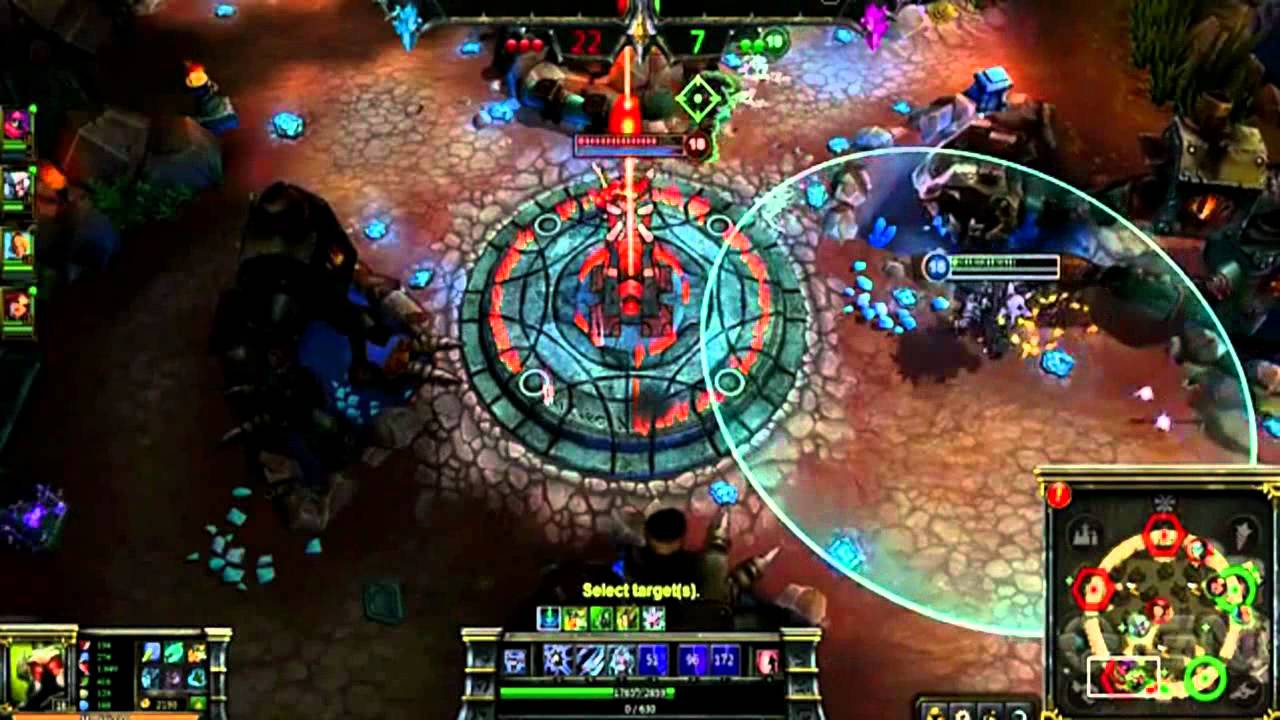 The League of Legends replay system.