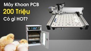 Sản Phẩm Mới 66   Máy Ấp Trứng Cùng Máy Khoan Pcb Bungard Có Giá 200 Triệu?