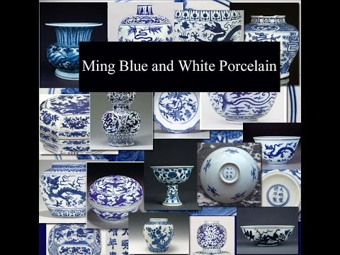 Ming Blue And White Porcelain, An Introduction #chineseporcelain