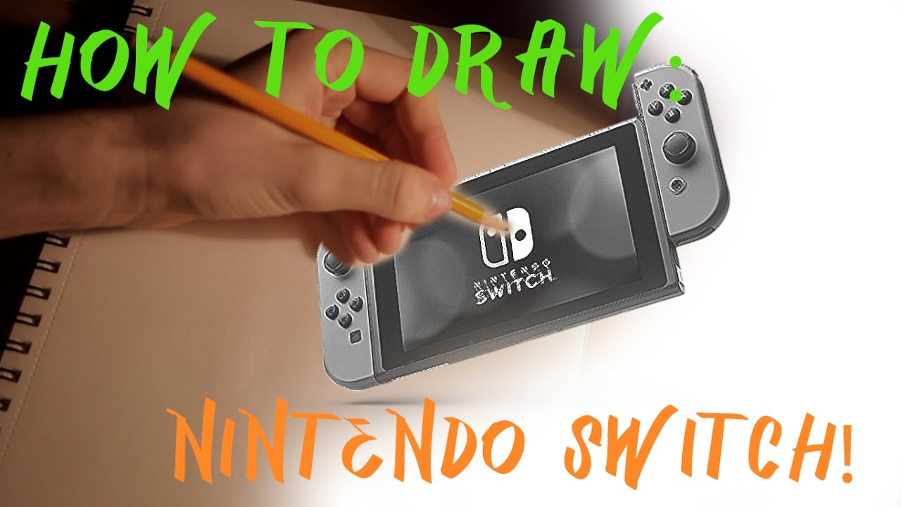 How To Draw A Nintendo Switch Youtube