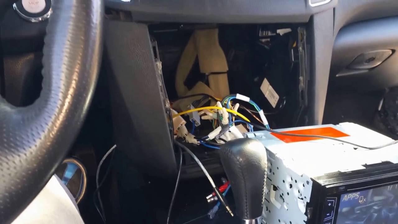 2013 maxima rear camera to an aftermarket radio