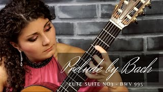 Prelude - Lute Suite No. 3, BWV 995 by J.S. Bach | Gohar Vardanyan