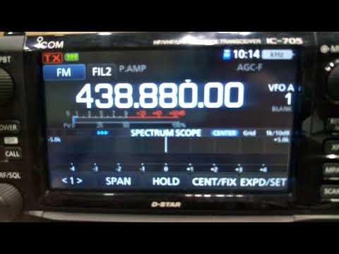 Icom IC-705 HF/VHF/UHF portable SDR transceiver – full