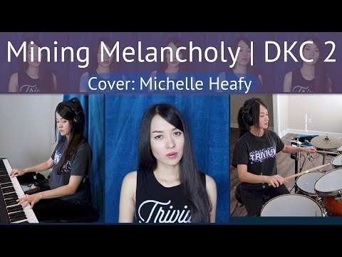 Mining Melancholy (Donkey Kong Country 2) Cover   Michelle Heafy