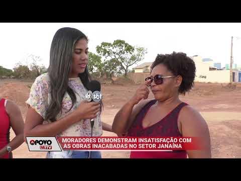 O Povo na TV: Obra parada no setor Janaína revolta moradores