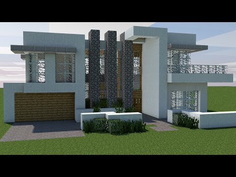 Full download minecraft como construir uma casa moderna for Casa moderna minecraft tutorial