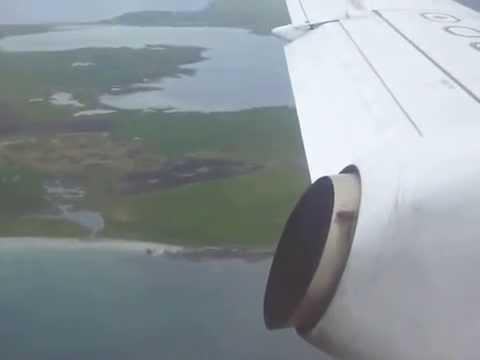 Landing in Kirkwall, Orkney