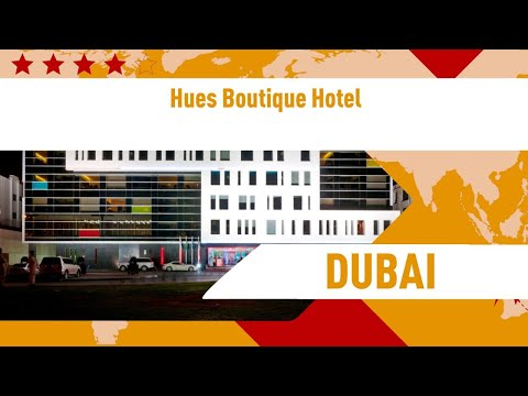 Hues Boutique Hotel 4 ⭐⭐⭐⭐| Review Hotel In Dubai, UAE