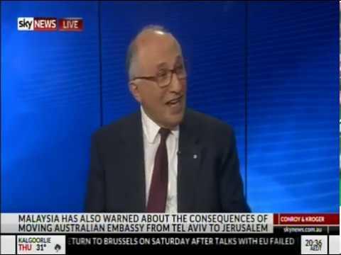 Colin Rubenstein On Australia's Proposed Israel Embassy Move