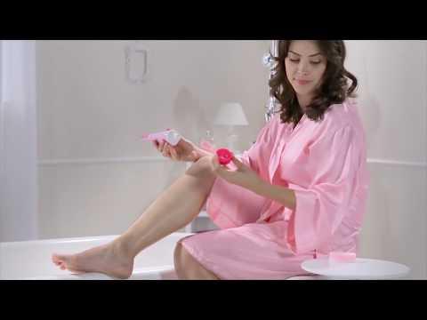 Tutoriel  comment utiliser la crème dépilatoire sous la douche Veet