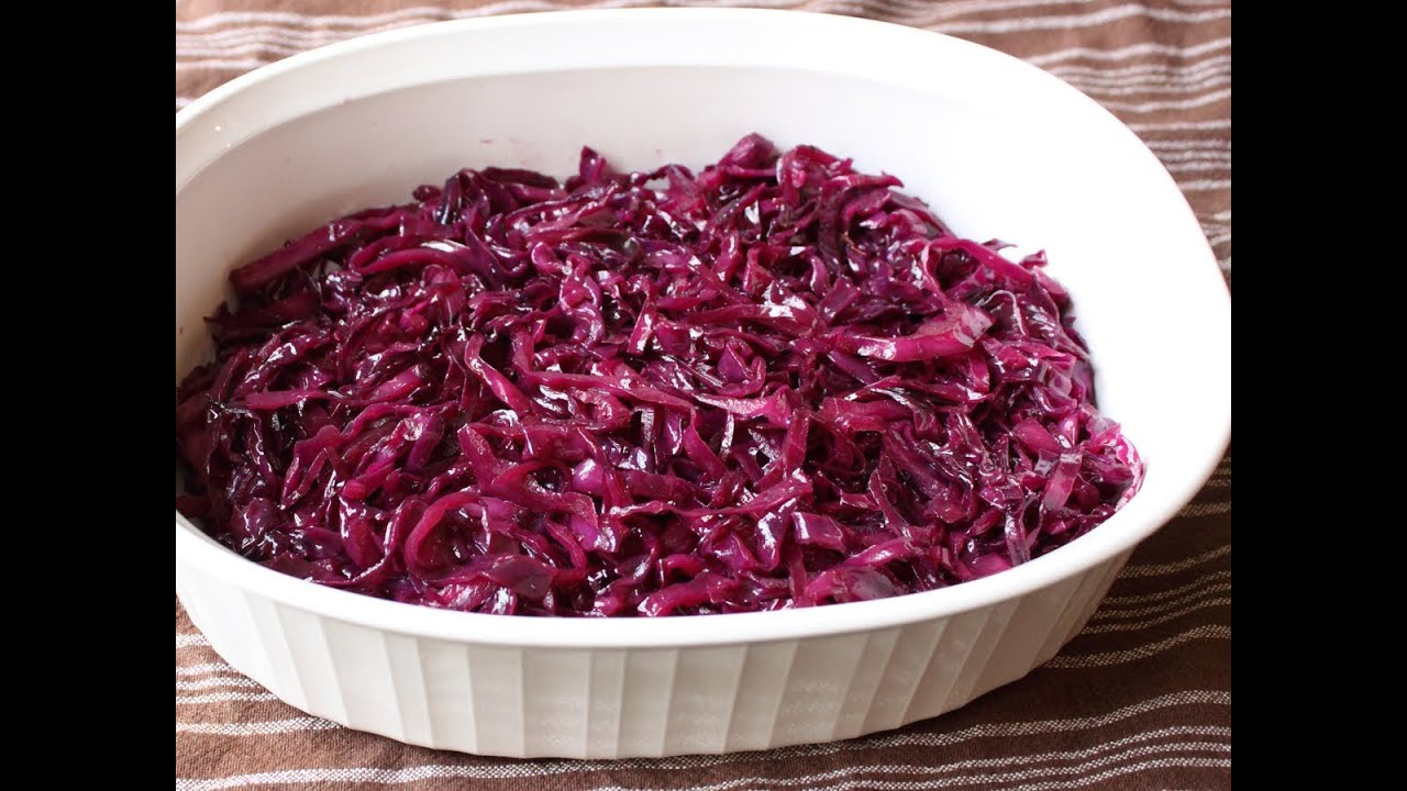 braised red cabbage recipe - photo #22