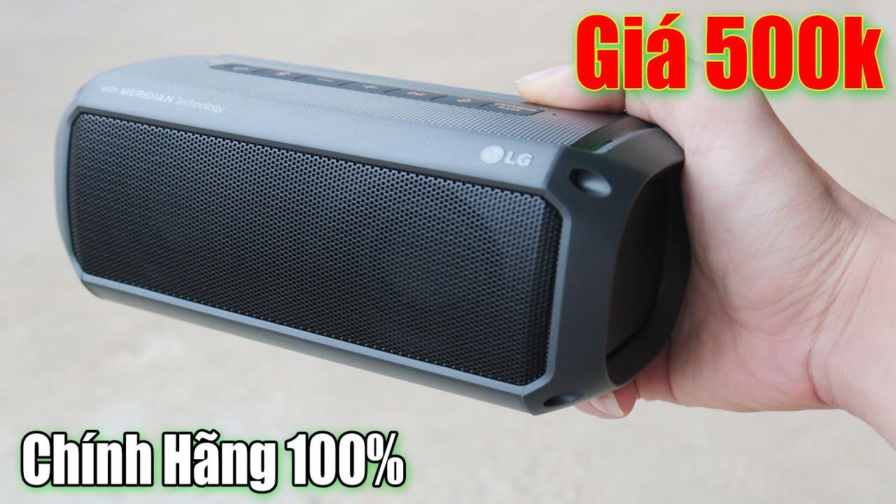 Trên Tay Loa Bluetooth  LG XBOOM PK3 Chống Nước Giá Rẻ Nghe Cực Phê