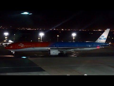 KLM 777- 300ER Orange Pride Livery Take Off & Landing At Cape Town International Airport