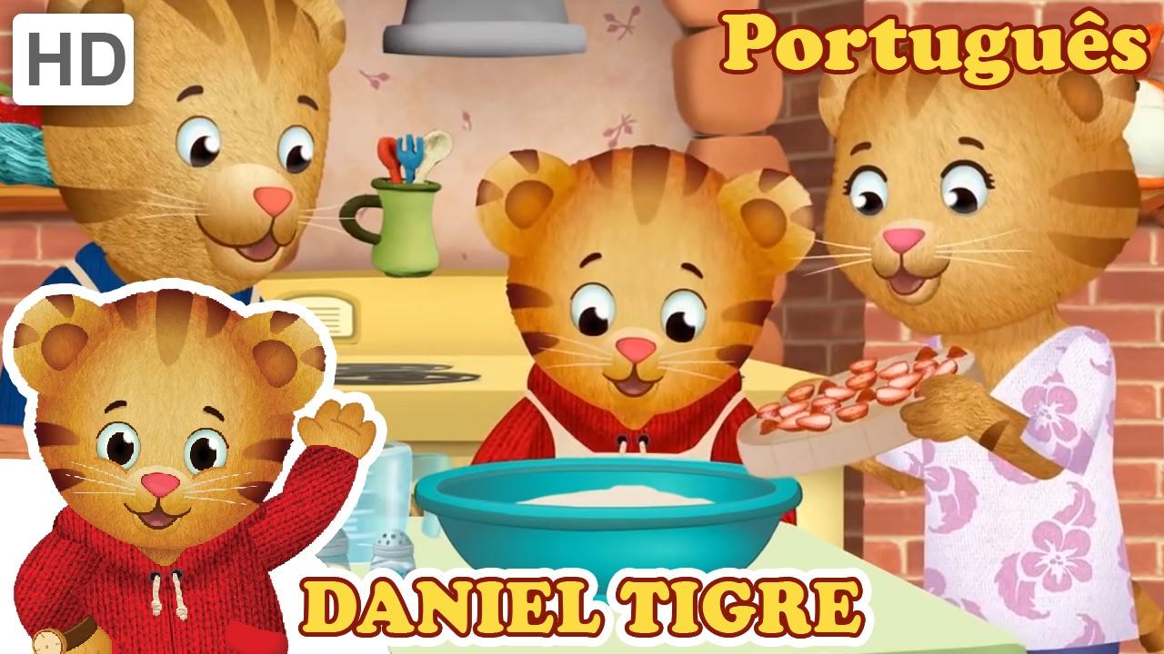 Daniel Tigre Em Portugues Passar O Tempo Com A Familia Youtube