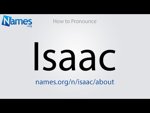 How To Pronounce Isaac