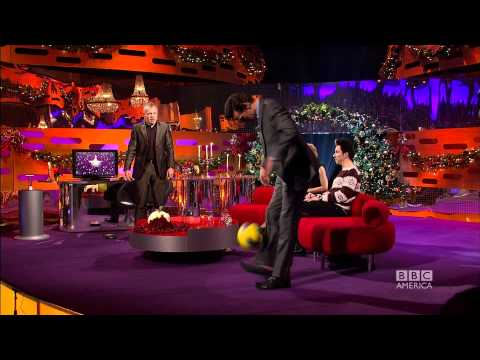 "MATT SMITH: Karen Gillan is ""mad as a box of cats!"" (The Graham Norton Show)"
