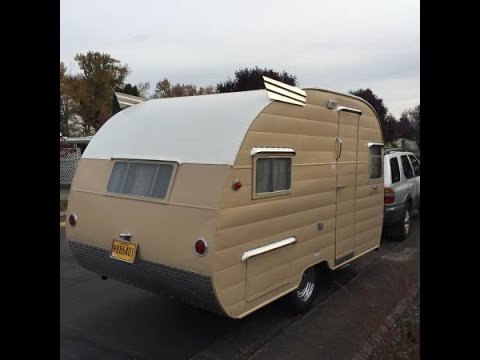 1956 Shasta 14 Vintage Travel Trailer Restored