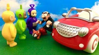 Teletubisie, Gargamel i Myszka Miki po Polsku ♦ Bajka dla dzieci ♦ Gdzie jest wioska smerfow