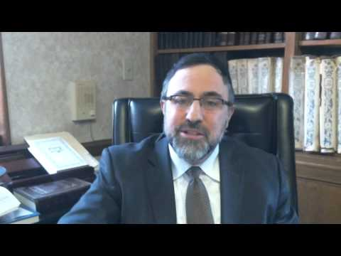 Video Vort - Shemos 5775 - Rabbi Etan Tokayer