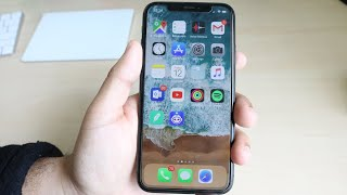 Whats On My iPHONE X! October 2018