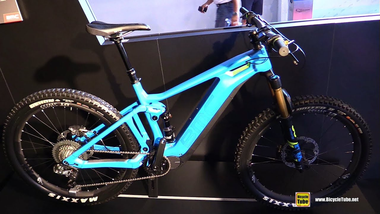 50c55fb5189 2018 BMC TrailFox AMP LTD Electric Mountain Bike - Walkaround - 2017  Eurobike