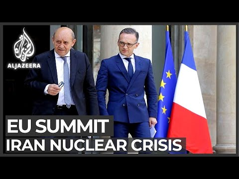 European leaders hold emergency summit to save Iran deal