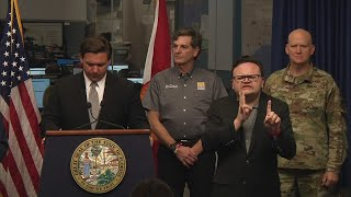 WEB EXTRA: Gov. Ron DeSantis Holds Press Conference