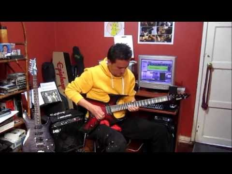 johnjprieto Solo with Camelo Custom Guitar Over FGC2 BT