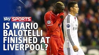 Redknapp, Carragher & Souness discuss if Mario Balotelli has a future at Liverpool