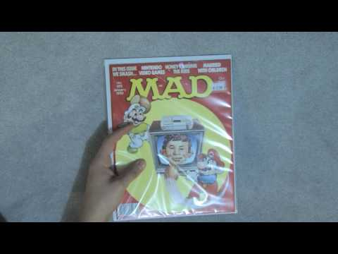 ASMR - MAD Magazine Collection, page flipping, tapping
