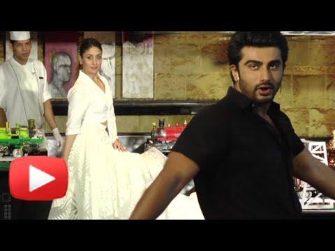 Arjun Kapoor Passes An Adult Comment On Kareena Kapoors Posture Ki Ka Song Launch Youtube