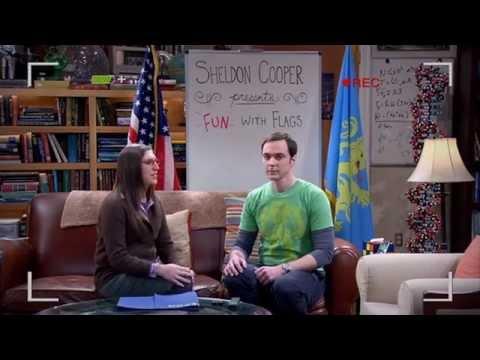 Agymenők - Sheldon Cooper bemutatja : Móka és Zászlók videó letöltése