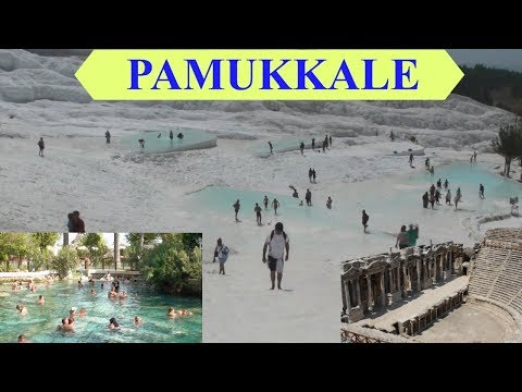 Pamukkale Thermal Pools and Hierapolis ancient city - Turkey